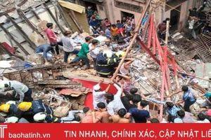 Sập tòa nhà 4 tầng ở Ấn Độ: 2 người chết, hơn 40 người mắc kẹt