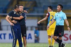 HLV Chu Đình Nghiêm bị cấm chỉ đạo trận Hà Nội FC-HAGL