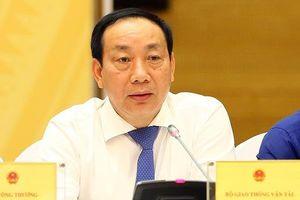 Ông Nguyễn Hồng Trường bị kỷ luật Đảng vì bê bối khi ngồi ghế Thứ trưởng Bộ Giao thông vận tải