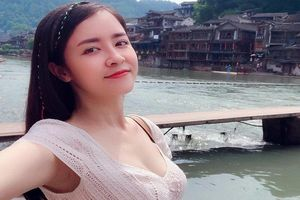 Nhan sắc 'mòn con mắt' của mỹ nhân lén sinh con cho Việt Anh trong Mê cung