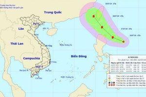 Lại xuất hiện áp thấp nhiệt đới gần biển Đông, có thể mạnh thành bão