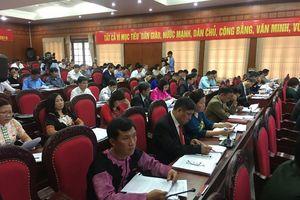 Khai mạc Kỳ họp thứ 9, HĐND tỉnh Sơn La khóa XIV