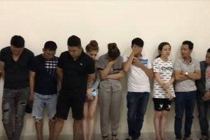 Hàng chục 'nam thanh nữ tú' phê ma túy trong quán karaoke