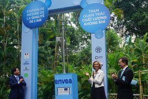 Khánh thành trạm đo lường chất lượng không khí thứ 11 tại Hà Nội