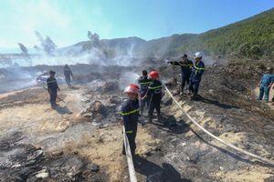 Đà Nẵng: Liên tiếp xảy ra cháy rừng trên núi Sơn Trà