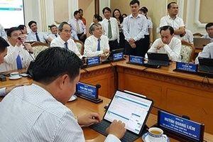 TP Hồ Chí Minh ứng dụng công nghệ, quyết tâm phục vụ người dân tốt hơn