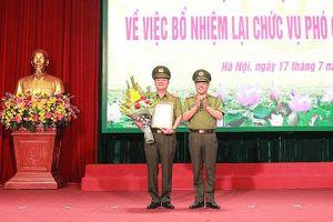 Bổ nhiệm lại chức danh Phó Giám đốc CATP Hà Nội đối với Thiếu tướng Đào Thanh Hải