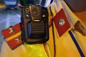 Camera giám sát trang bị cho CSGT có gì đặc biệt?