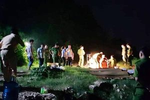 Tìm thấy thi thể 4 nam thanh niên bị đuối nước ở sông Đà