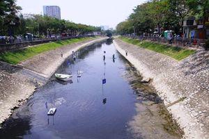 Xả nước hồ Tây không ảnh hưởng đến công tác thử nghiệm của chuyên gia Nhật Bản
