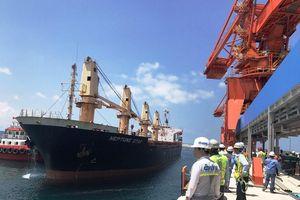 Cảng Vĩnh Tân đón tàu quốc tế trọng tải 10.000 tấn