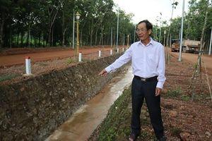 Lão nông hiến đất 4 tỷ làm đường
