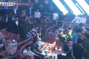 Đóng cửa quán bar để hơn 200 đối tượng sử dụng ma túy