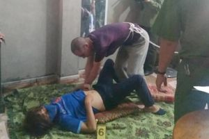 Kẻ hiếp dâm 2 lần nữ sinh giao gà ở Điện Biên xuất hiện tiều tụy khi thực nghiệm hiện trường