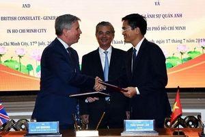 Tổng Lãnh sự Anh: Phối hợp giúp TP. Hồ Chí Minh xây dựng đô thị thông minh