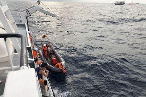 Phát hiện thêm 2 thi thể gần khu vực tàu cá bị đâm chìm ở Bạch Long Vĩ
