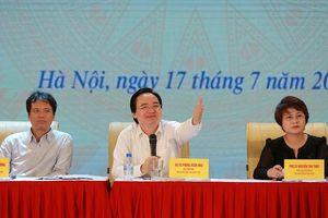 Bộ trưởng Phùng Xuân Nhạ: Kết quả thi lịch sử, tiếng Anh là chưa chấp nhận được