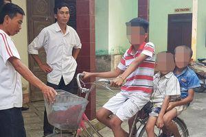 Đi chơi bị lạc, 3 trẻ em Nghệ An dựng chuyện bị bắt cóc