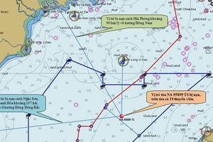 Tìm thấy thêm 2 thi thể ngư dân tàu cá bị đâm chìm gần đảo Bạch Long Vĩ