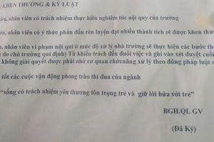 Bạc Liêu: Giáo viên tố hiệu trưởng mầm non Bi Bo giật tiền lương