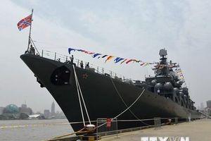 Nga: Hàng chục tàu chiến và máy bay tham gia lễ duyệt binh hải quân