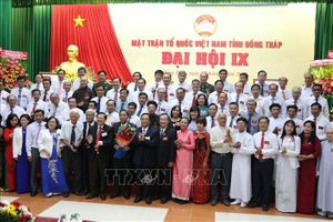 Ông Lê Thành Công đắc cử Chủ tịch Ủy ban MTTQ Việt Nam tỉnh Đồng Tháp