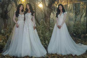 Tiểu Vy, Phương Nga, Thúy An hóa cô dâu xinh đẹp ' quyết không ai nhường ai'