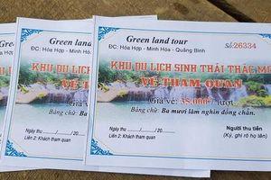 Vụ 'Chưa có quyết định thuê đất, doanh nghiệp ngang nhiên mở khu du lịch để bán vé tại Quảng Bình': Có dấu hiệu trốn thuế?