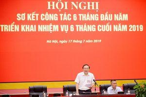 Đảng ủy Bộ TN&MT triển khai nhiệm vụ 6 tháng cuối năm 2019