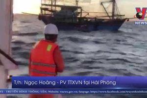 Phát hiện hai thi thể trôi gần khu vực tàu chìm
