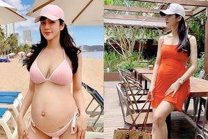Diệp Lâm Anh mang bầu lần 2: Sống sang chảnh, 'nghiện' chụp ảnh bikini nóng bỏng