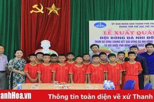 U11 Thanh Hóa xuất quân tham gia các giải bóng đá quốc gia 2019