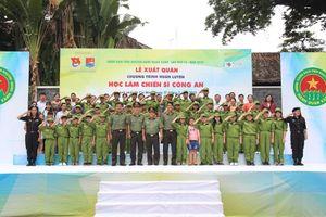 Lễ xuất quân Chương trình huấn luyện 'Học làm chiến sĩ Công an'