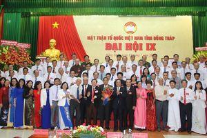 Trưởng Ban Dân vận giữ chức Chủ tịch Ủy ban MTTQVN tỉnh Đồng Tháp