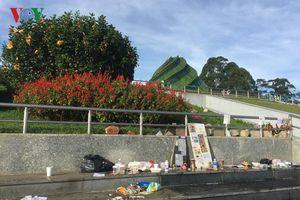 Xả rác bừa bãi ở Đà Lạt sẽ bị phạt tới 7 triệu đồng