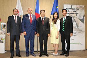 Séc mong muốn hợp tác toàn diện với Việt Nam
