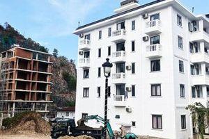 Dự án Khu biệt thự cao cấp Ocean View Nha Trang bị đề nghị cắt điện, nước vì sai phạm nghiêm trọng về xây dựng