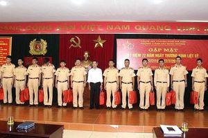 Cảnh sát giao thông Hà Nội tri ân các thương binh, Anh hùng liệt sỹ