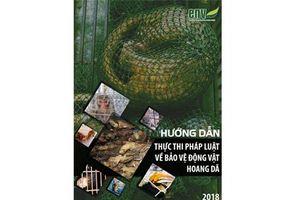 Ra mắt ấn phẩm 'Hướng dẫn thực thi pháp luật về bảo vệ động vật hoang dã'