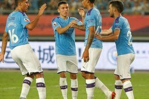 Sterling tỏa sáng, Man City đè bẹp West Ham ở Asia Trophy