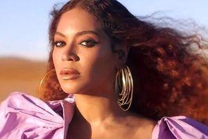'Ong chúa' Beyonce được ngợi khen với thời trang sặc sỡ
