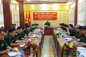 Thượng tướng Lê Chiêm kiểm tra công tác tư pháp, pháp chế tại Binh đoàn 16