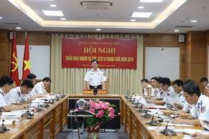 Bộ tư lệnh Cảnh sát biển triển khai nhiệm vụ 6 tháng cuối năm 2019