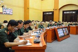 Bộ Tổng Tham mưu rút kinh nghiệm công tác tuyển quân năm 2019