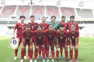Tuyết Ngân và các đồng đội suýt gây bất ngờ trước U18 Hàn Quốc