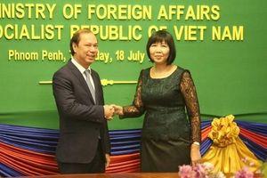 Tham khảo chính trị Bộ Ngoại giao Việt Nam - Campuchia lần thứ 6