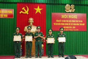 BĐBP Trà Vinh: Tổng kết 10 năm thực hiện phong trào thi đua 'BĐBP chung sức xây dựng nông thôn mới'