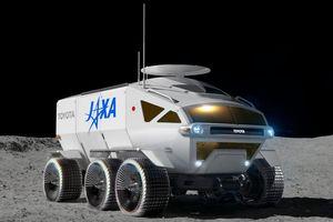 Toyota phát triển pin cho xe tự hành Nhật Bản trên mặt trăng