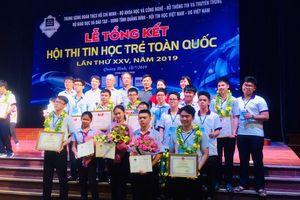 Đà Nẵng giành giải nhất toàn đoàn Hội thi Tin học trẻ toàn quốc