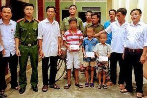 Sự thật vụ 3 bé trai nghi bị bắt cóc ở Nghệ An